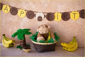 monkey themed parties