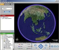 google earth mapas