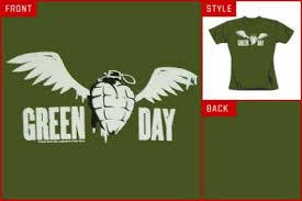 green day tshirt