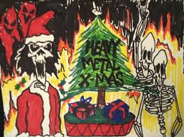 christmas heavy metal