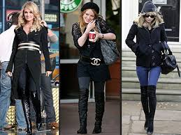 fashion thigh boots