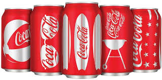 new coca cola can
