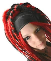 goth hair accessories