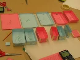 folded boxes