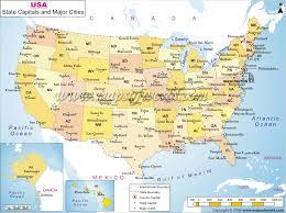 map cities usa
