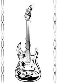 guitar tribal