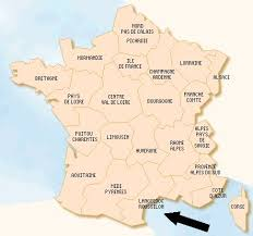 map of pyrenees mountains