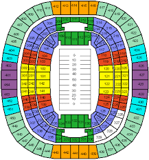 fed ex field seating chart