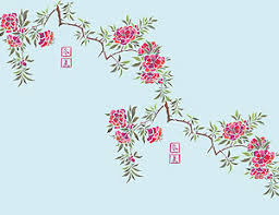 chinese flower patterns
