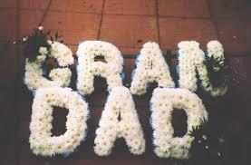 funeral flowers grandad