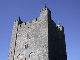 medieval castle towers