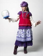 fortune teller halloween costume