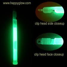 glow stick earrings