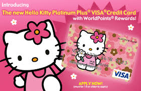 hello kitty credit card