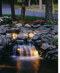 pond waterfall photos