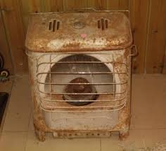 old kerosene heater