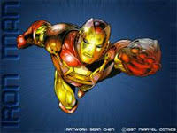 iron man computer theme