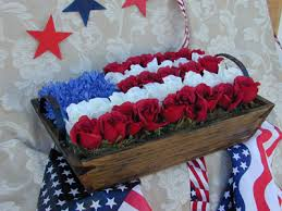patriotic floral arrangements