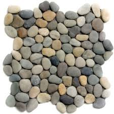 pebble water features