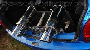 custom car exhausts