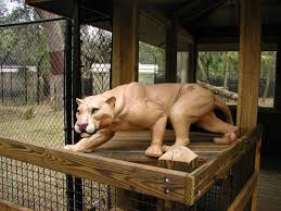 cougar sculpture