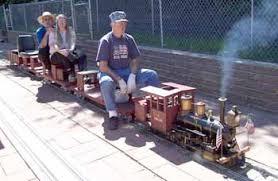 live steam railroad