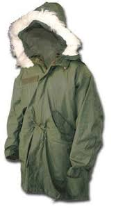 fish tail parka