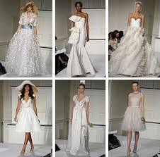 oscar de la renta wedding dresses 2009