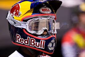 red bull motocross helmet