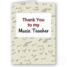 musical thank you cards
