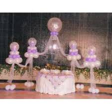 decoracion globos bautizo