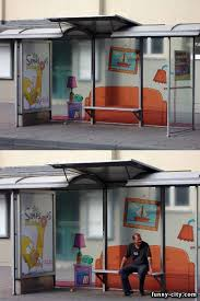 bus stop ads