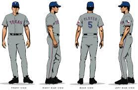 rangers uniforms