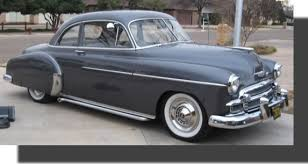 1950 chevy car