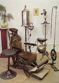 antique dental chairs