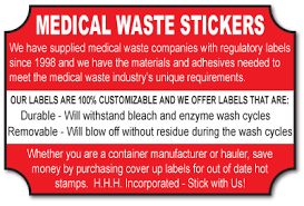 waste stickers