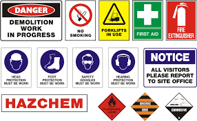 safety signs posters