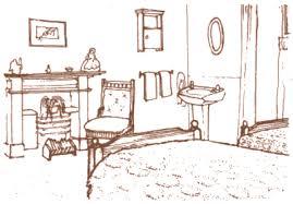bedroom drawing