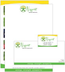 letterhead business card