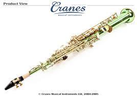 green saxophone