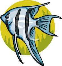 angel fish clip art