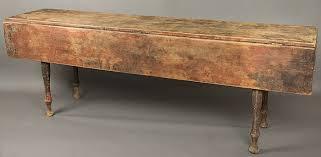 antique harvest tables
