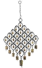 brass wind chimes