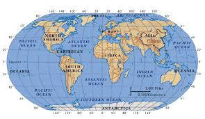 china location map