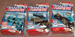 transformers animated blurr toy