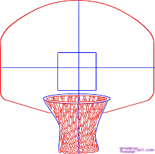 drawing of a basketball