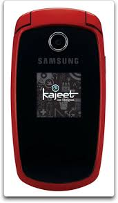 samsung red mobile phone