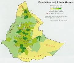 maps of ethiopia
