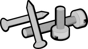 screws nails