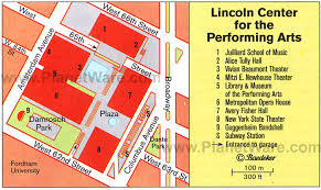 lincoln center map